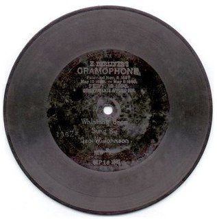 Berliner Gramophone US record label, imprint of United States Gramophone Company; worlds first record label