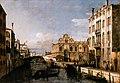 Bernardo Bellotto, il Canaletto - Rio dei Mendicanti with the Scuola di San Marco - WGA01809.jpg