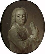 Portrait of Bernardus de Bosch I, Poet in Panpoeticon Batavum
