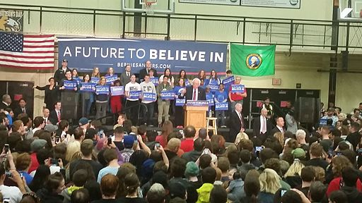 Bernie Sanders Rally Vancouver, WA March 20, 2016 - 42