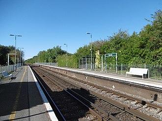 Berwick (Sussex) railway station - Image: Berwick station (geograph 5117498)