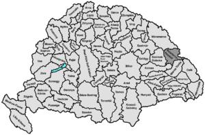 Beszterce-Naszód County - Image: Beszterce naszod