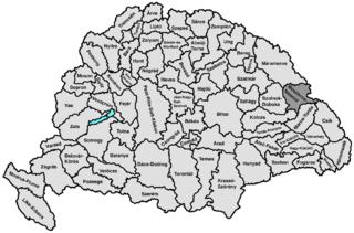 Beszterce-Naszód County county of the Kingdom of Hungary