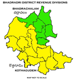 Bhadradri District Revenue divisions map.png