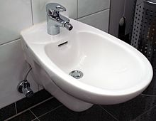A Modern Bidet Of The Traditional Type