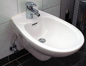 Bidet - A modern bidet of the traditional type