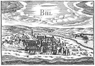 Biel/Bienne - Biel/Bienne in 1546