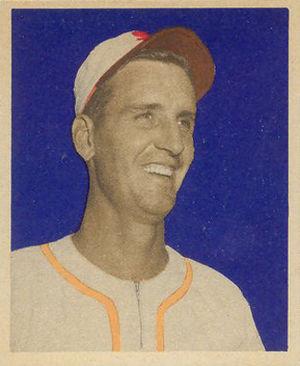 Bill Kennedy (1948–57 pitcher) - Image: Bill Kennedy 1949