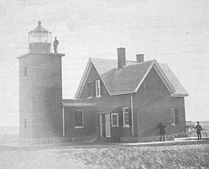 Billingsgate Island Light - US Coast Guard photo