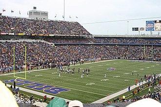 Sports in Buffalo - Inside of New Era Field, home of the Buffalo Bills