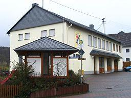Gemeindehaus von Birkheim im Hunsrück