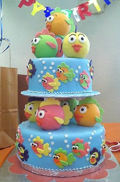 File:Birthday cake for one-year old.jpg