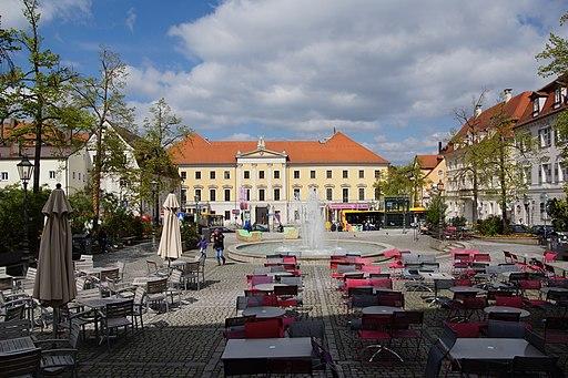 Theater am Bismarckplatz, ehemals Französische Gesandtschaft (Bismarckplatz - Regensburg) 001