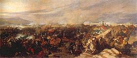 La Bataille de Vienne par Józef Brandt