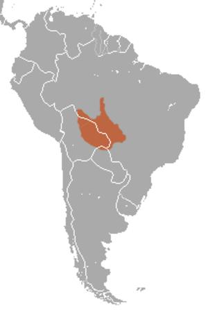 Black-tailed marmoset - Image: Black tailed Marmoset area