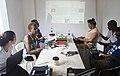 Black Lunch Table Wikipedia Edit-a-thon at Alice Yard, Trinidad and Tobago 05.jpg