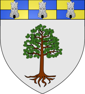 Aunay-sous-Crécy - Image: Blason Aunay sous Crécy
