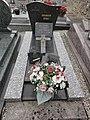 Blercourt (Nixéville-Blercourt, Meuse) cimetière, tombe d'un soldat.JPG