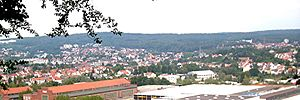 Sankt Ingbert - Panoramic view of St. Ingbert