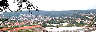 Sankt Ingbert - Panoramic view of St. Ingbert