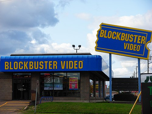 Blockbuster to put itself up for sale
