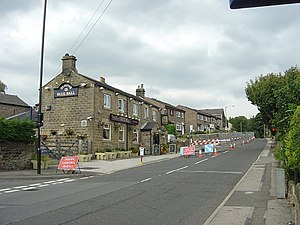 Wharncliffe Side - Image: Blue Ball, Wharncliffe Side geograph.org.uk 979865
