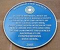 Blue Plaque, Alec Clegg - geograph.org.uk - 1128447.jpg