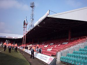 Blundell Park - Osmond Stand (Away End)