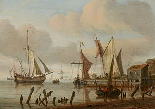Boats at a Mooring Place