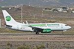 Boeing 737-75B(w) 'D-AGET' Germania (24269659613).jpg