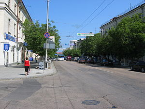 Велика морська вулиця севастополь