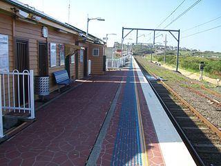 Bombo railway station