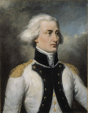 Bon-Adrien Jeannot de Moncey - Portrait of Bon-Adrien Jeannot de Moncey in 1792, painted by Pierre-Joseph Dedreux-Dorcy in 1834, now at the Palace of Versailles