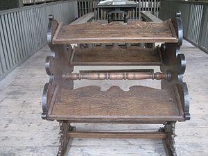 Bookwheel - Bookwheel in Leiden (c.1650)