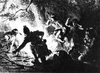 Capture and rescue of Jemima Boone - The rescue of Jemima Boone and Betsey and Fanny Callaway, kidnapped by Indians in July 1776