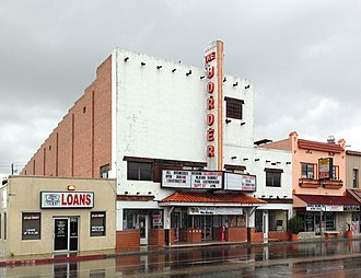 National Register of Historic Places listings in Hidalgo County, Texas - Image: Border Theatre