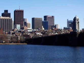 2004 Democratic National Convention - Beacon Hill and Downtown Boston as seen from Cambridge