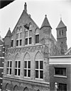 bovengedeelte van de gevel, na de restauratie 1954-1955 - arnhem - 20024973 - rce