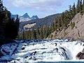 Bow Falls, Bow River, Banff - panoramio.jpg