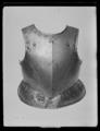 Bröstharnesk, för pikenerare. 1600-talets första hälft - Livrustkammaren - 53626.tif