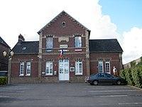 Bracquemont, Seine-Maritime, France, mairie.JPG
