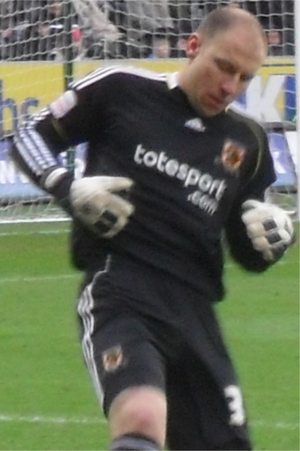 Brad Guzan - Guzan playing for Hull City in 2011