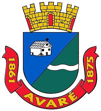 Avaré, São Paulo - Image: Brasão de Avaré