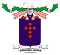 Brasão de Francisco Dantas, Rio Grande do Norte, Brasil.png