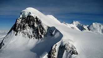 Breithorn - The Breithorn (Western Summit), as seen from Klein Matterhorn (west side)