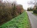 Bridge over land drain at Trumfleet Cross Roads - geograph.org.uk - 287300.jpg