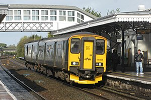 Bridgwater railway station - A service to Taunton