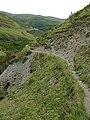 Bridleway down Cwm Gwrach, Powys - geograph.org.uk - 1529680.jpg