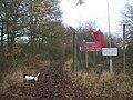 Bridleway past Firing Range - geograph.org.uk - 1073384.jpg
