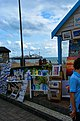Brighton - Esplanade down King's Road - View SE towards Brighton Pier I.jpg
